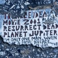 I spotted this curious message on a Philadelphia sidewalk in 2008, and found that it was one of many located around the city. Known as Toynbee tiles (also called Toynbee plaques), the tiles […]