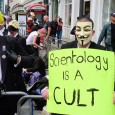 Protests outside the Scientology building on Tottenham Court Road, London, have become a regular feature, and here's a few pics taken of Saturday's demo.