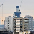 Currently rising into the skies at Vauxhall is the St George Wharf Tower (aka The Tower), which will be the tallest residential building in the UK when completed.