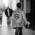 I'm not quite sure why I like this photo, but I found myself compelled to grab this shot of a guy in central Philly wearing a battered leather jacket with […]
