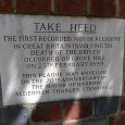 En route to the boozer before Saturday's Championship play off final at Wembley, I passed this plaque on a wall in Grove Hill, Harrow on the Hill. The roadside plaque […]