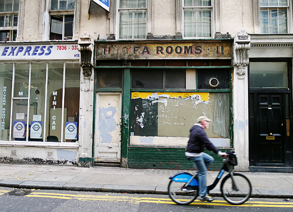 Urban Tea Rooms London