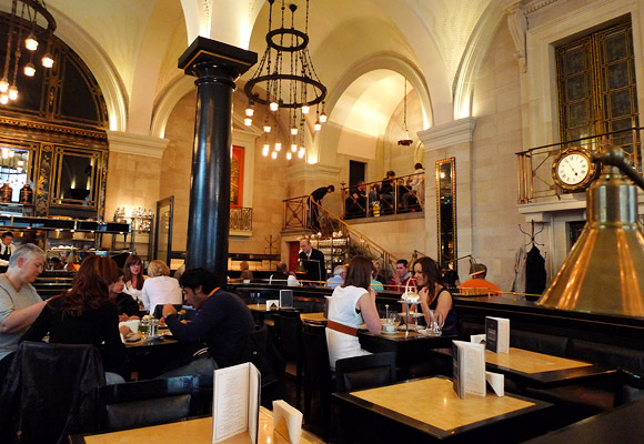 Afternoon Tea At The Wolseley Piccadilly London