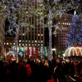 Putting Oxford Street's desperate offering to shame is the gloriously over-the-top display at the Rockefeller Centre, New York: And here's the feeble lights on London's Oxford Street.