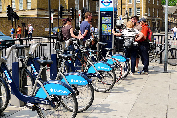 Barclays Boris Bikes go east and west, Brixton left out in the cold