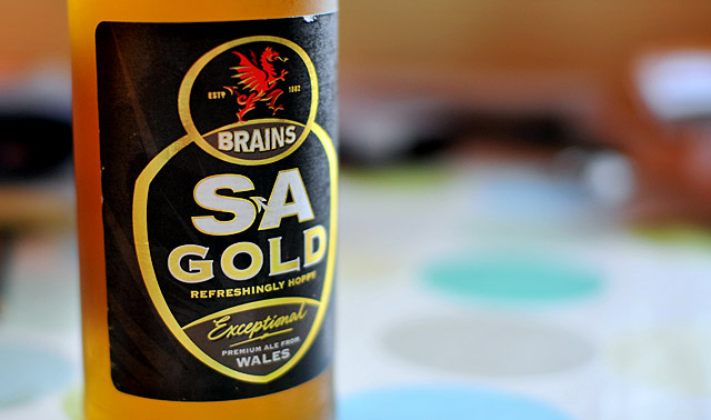 A taste of Wales: Brains SA ('Skull Attack')