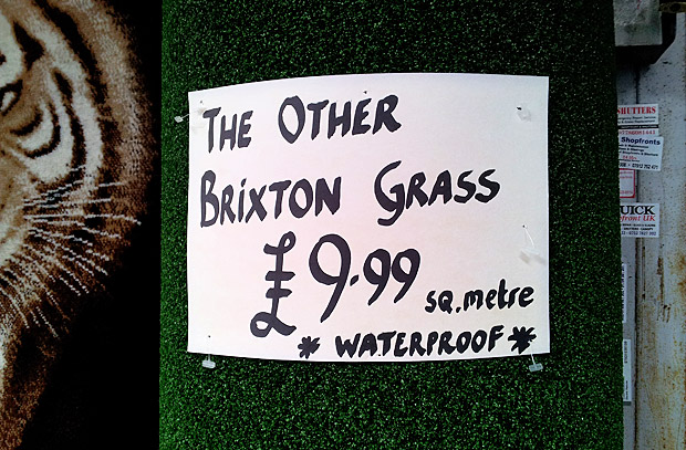 Buy grass from Brixton, Atlantic Road SW9