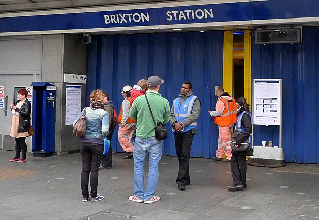 Brixton tube closures: 31st Mar/1st April and 6th/7th May 2012
