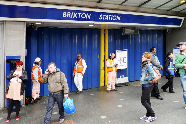 Brixton tube closures: 31st Mar/1st April and 6th/7th May 2012
