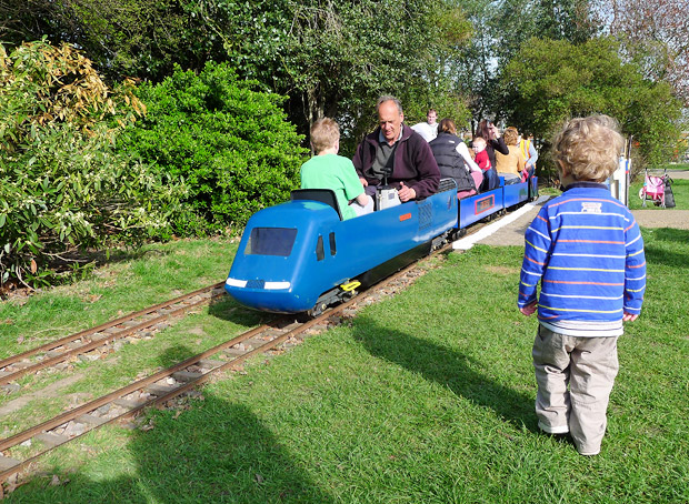 Brockwell Park Miniature Railway roars into action, south London