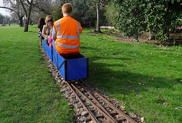 Brockwell Park Miniature Railway roars into action in south London