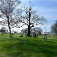 It wasn't quite as warm as the clear blue sky suggests, but yesterday we went for a very pleasant picnic in Brockwell Park, a 125 acre park located between Brixton, Herne Hill...