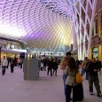 """Designed by John McAslan and Partners, the stunning new roof at King's Cross station forms part of a half billion project to createa """"transport super-hub"""" in time for the Olympics."""
