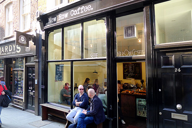 New Row Coffee - a small but satisfying coffee shop in Covent Garden, London