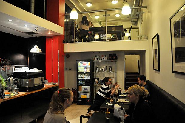 Nude Espresso Soho Square London W1