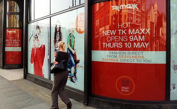 TK Maxx opening up in Brixton on 10th May 2012