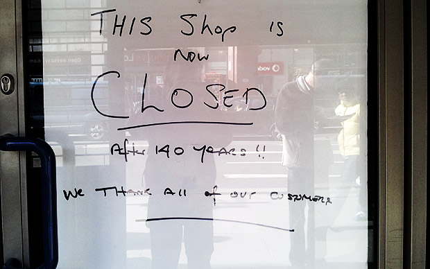 Brixton says goodbye to Websters shoe shop after 140 years of service