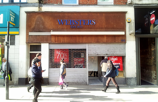 Websters shoe shop closes for after 140 years of service to Brixton