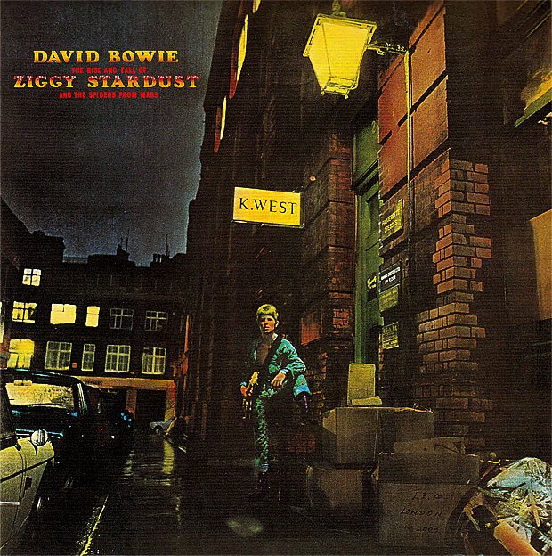 Forty years of Ziggy Stardust: plaque unveiled in Heddon St, London W1