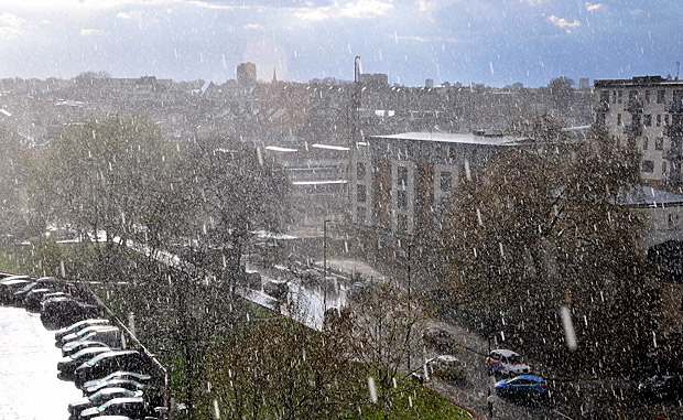 April showers, Brixton 2012