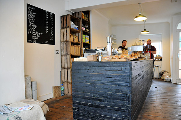 Coffee at 33, Trafalgar Street, Brighton - small cafe, great coffee