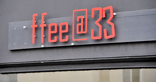 Coffee at 33, Trafalgar Street, Brighton