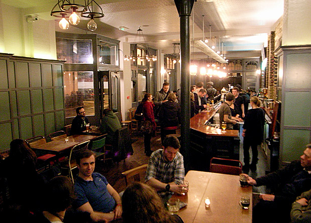 Crown & Anchor launches in a real ale frenzy, Brixton Road, Brixton