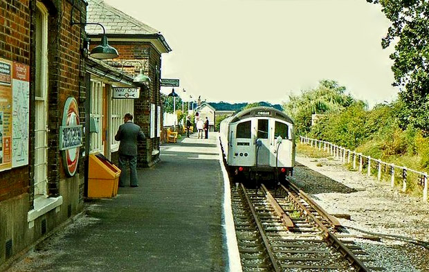 The Epping to Ongar railway reopens: archive photos, Blake Hall and Sham 69