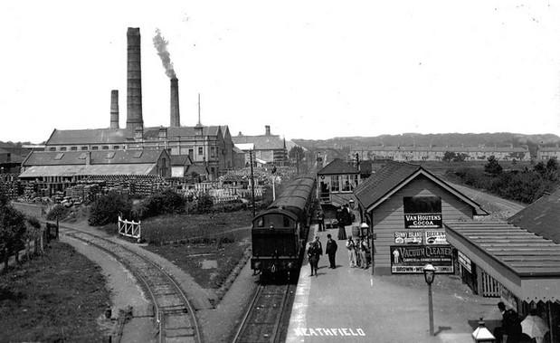 Teignbridge Level Crossing by Heathfield station, Devon: a rail survivor