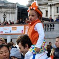 Back in March, it was the French taking over Trafalgar Square in central London, but yesterday it was the turn of the orange army, as the space was given over […]