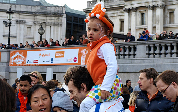 Holland House Dutch festival, Trafalgar Square