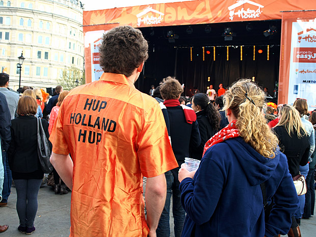 Holland House Dutch festival, Trafalgar Square, 14th April 2012