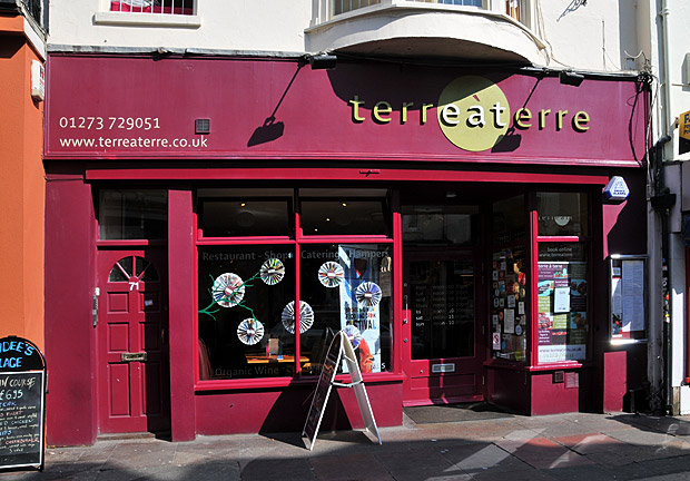 A delightful lunch at Terre a Terre, East Street, Brighton
