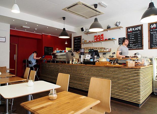 Great coffee in Brum: the 6/8 Kafe, Temple Row, Birmingham