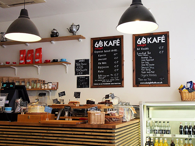 Great coffee in Brum: the 6/8 Kafe, Temple Row, Birmingham
