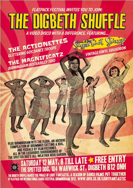 Doing the Digbeth Shuffle: Actionettes at the Flatpack Festival at the Spotted Dog, Birmingham