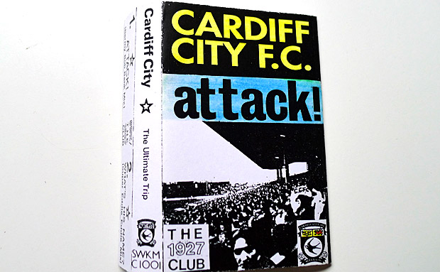 Cardiff City Attack! Vintage football rave track from the 1927 Club