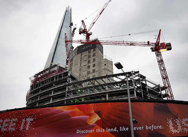 Of the shard and its accompanying london bridge quarter development