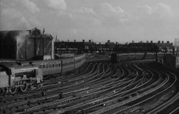 Wartime Waterloo station shown off in British Council short film