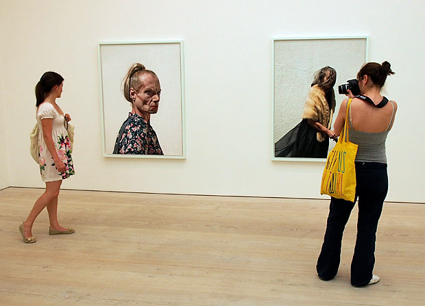 Out Of Focus: Photography exhibition at the Saatchi Gallery, Chelsea