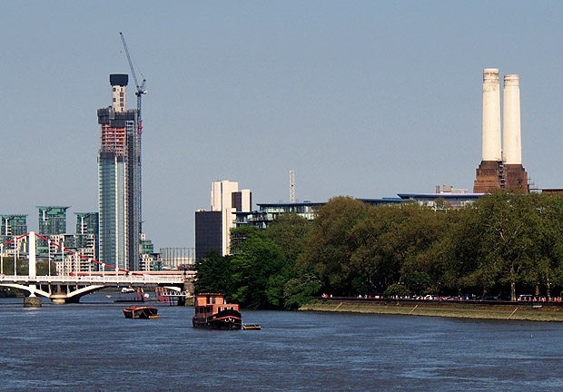 St George Wharf Tower, London
