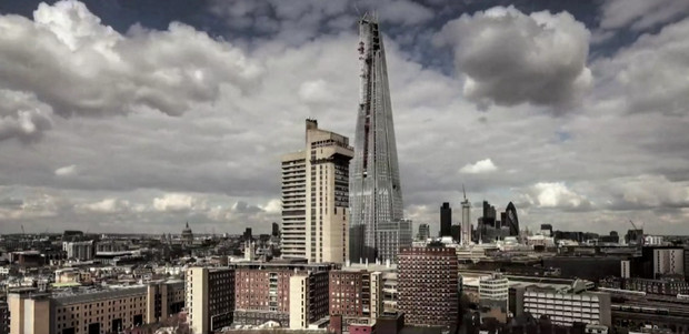 The Shard - timelapse video shows the great tower rising over London