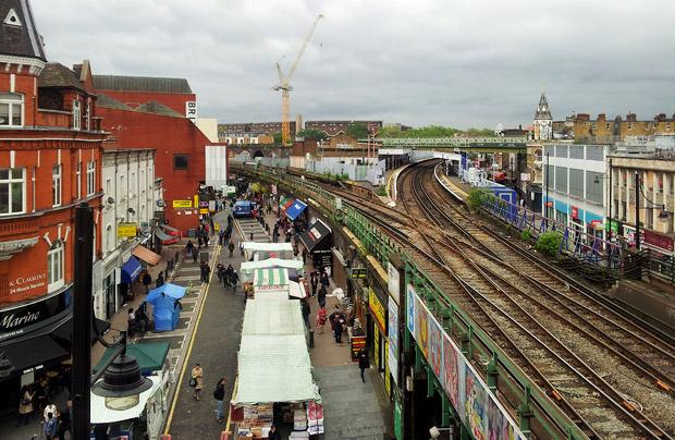 Some new views on Brixton, courtesy of TK Maxx