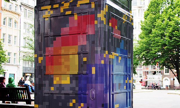 BT ArtBox Project celebrates the iconic British telephone box