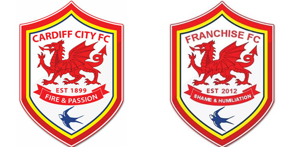 Cardiff City FC becomes Franchise FC as branding changes forced on fans
