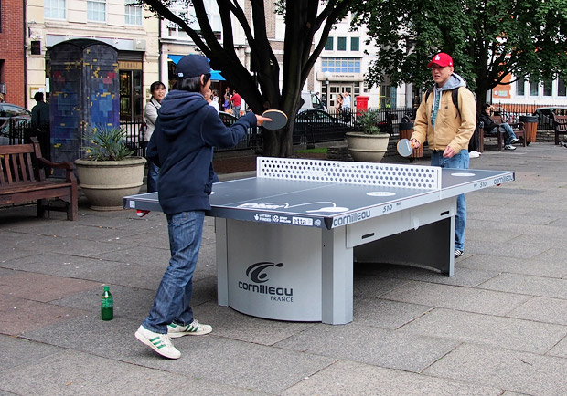 Free tennis tables appear in London public parks thanks to Ping!