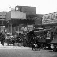 There's been a busy street market in Pope's Road, Brixton for over a hundred years, and although the market is still going strong, one part of the scene has vanished...