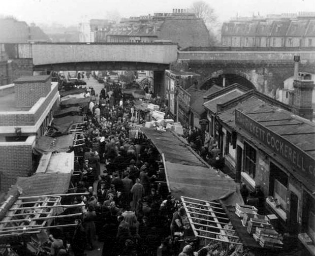 Brixton history - coal staithes at Pope's Road