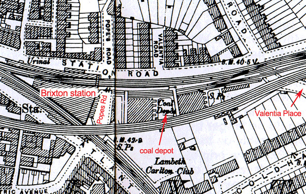 Brixton history - coal staithes and street markets at Pope's Road