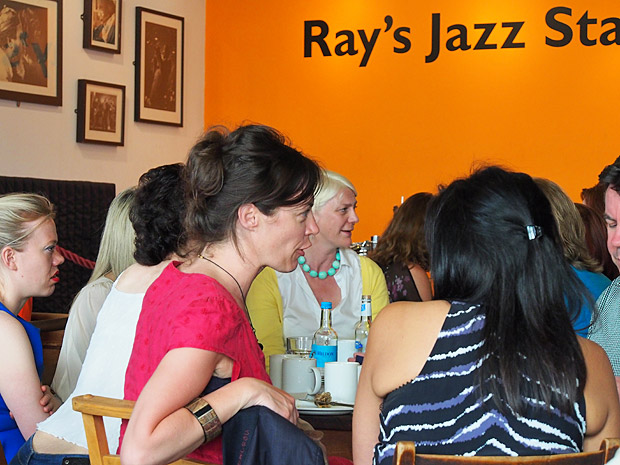 Ray's Jazz Cafe at Foyles bookshop, Charing Cross Road, central London